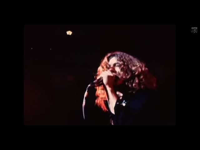 Led Zeppelin Whole Lotta Love Rough Mix With Vocal Official Music Video