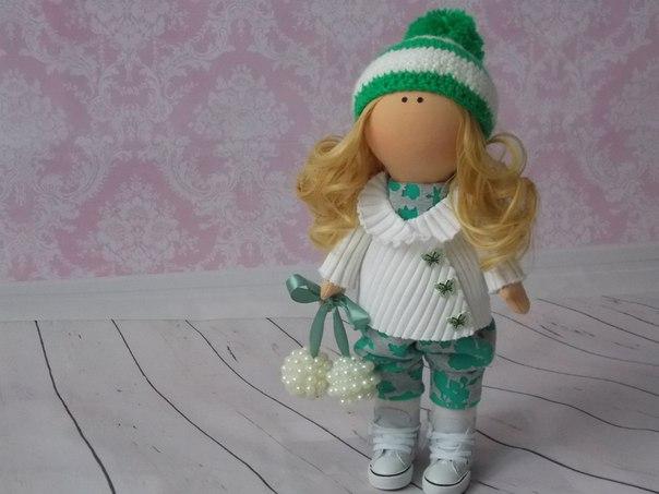 Интерьерная куколка своими руками 4