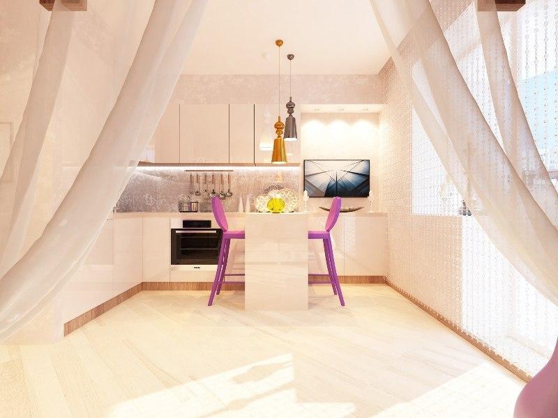 Два дизайн-проекта для квартиры 20 м.