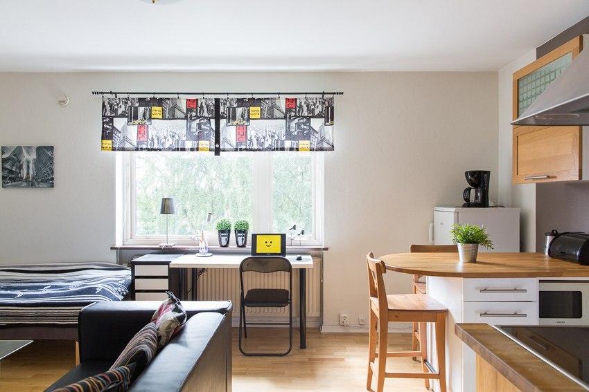 Интерьер квартиры-студии 25 м.