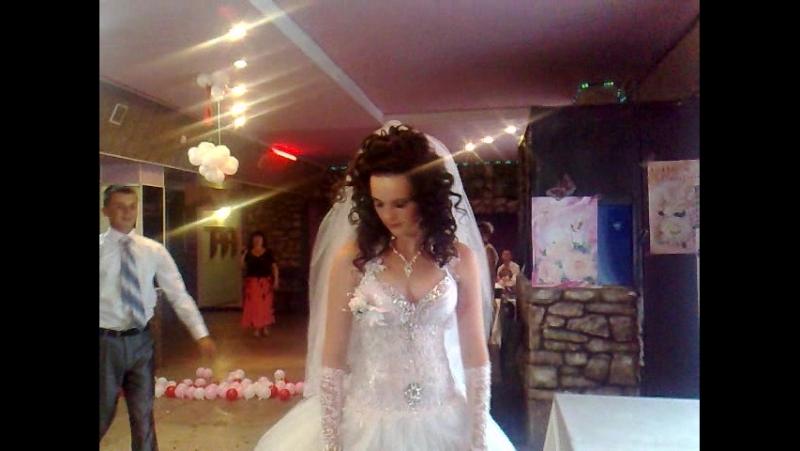 Свадебный танец молодых на свадьбе Павлика Шабельного у ресторане в Белой Церкве.