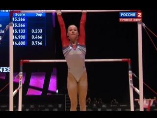 Гимнастика - Брусья - Женщины - Чемпионат Мира 2015