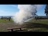 Тренировка по пожарной делу