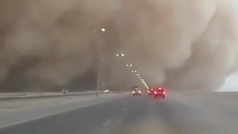 Хабуб в Кувейте