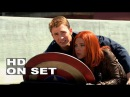 Captain America: The Winter Soldier: Behind the Scenes (Complete Broll) Chris Evans