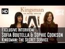 Sofia Boutella and Sophie Cookson Interview - Kingsman: The Secret Service