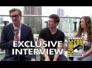 Comic Con 2014: Colin Firth, Taron Egerton Sophie Cookson Interview (2014) Kingsman HD