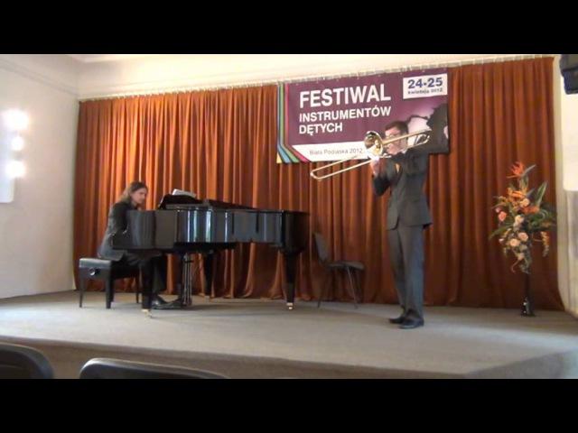 Koncert na puzon nr 1 Paweł Dołęgowski