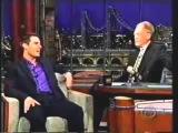Том Круз на шоу Дэвида Леттермана (смешной рассказ)