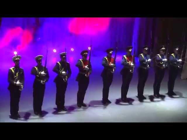 20.02.2015 Дефиле Роты Почётного караула Читинского гарнизона
