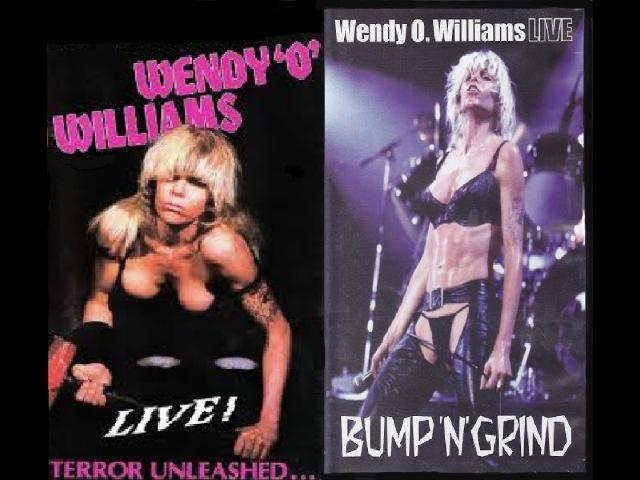 Wendy O. Williams - Live! Terror Unleashed / Bump 'N' Grind (Full DVD)