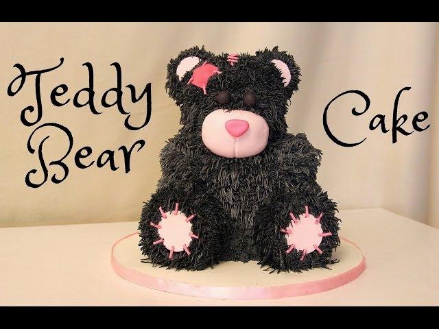Торт плюшевый медвежонок Тэдди How to make Teddy Bear Cake Decorating Tutorial