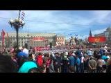 Иркутск. Парад-2016. Барабанщицы