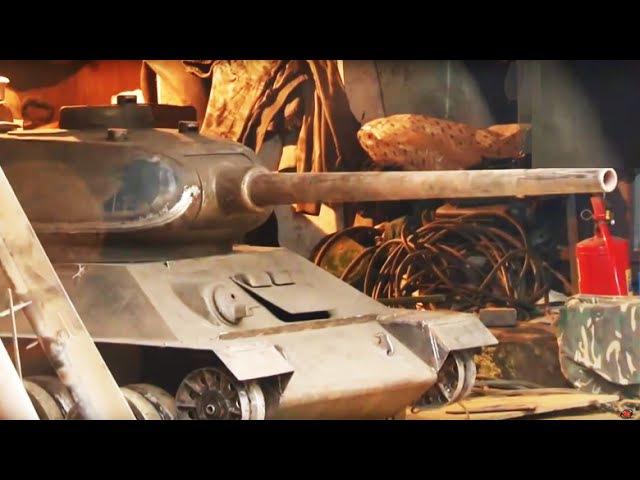Сварщик сварил двухместный танк для детей cdfhobr cdfhbk lde[vtcnysq nfyr lkz ltntq