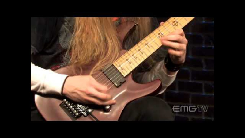 Incredible performance by Jeff Loomis, Jato Unit Live on EMGtv