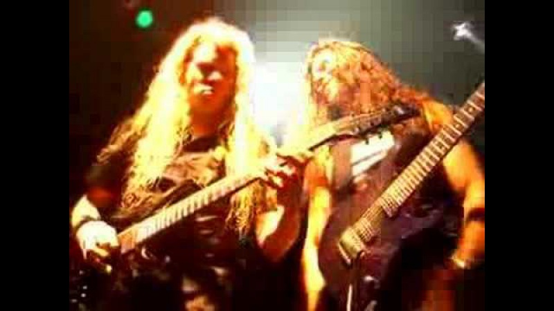 Nevermore: Chris Broderick Jeff Loomis Guitar Solo Duel