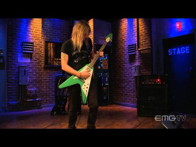 Richie Faulkner of Judas Priest plays Dark Embrace on EMGtv