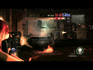 Resident Evil Operation Raccoon City - Claire Redfield - Heroes Mode - Xbox 360
