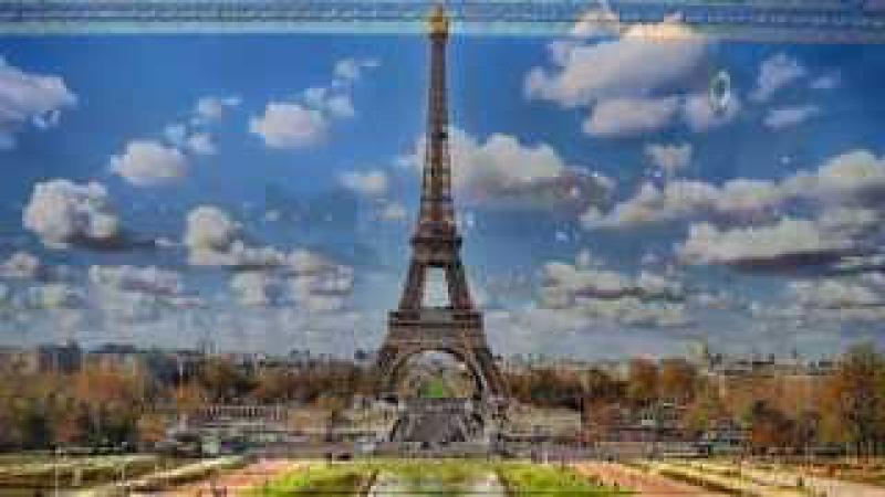 Под Небом Парижа автор музыки Юбер Жиро в подарок Ольге
