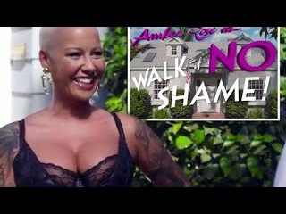 Amber Rose celebrates sex in 'Walk of No Shame' video after one night stand