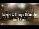 Kazuki(s**t kingz) Shingo OkamotoGot 'Til It's Gone/Janet Jackson@En Dance Studio Shibuya