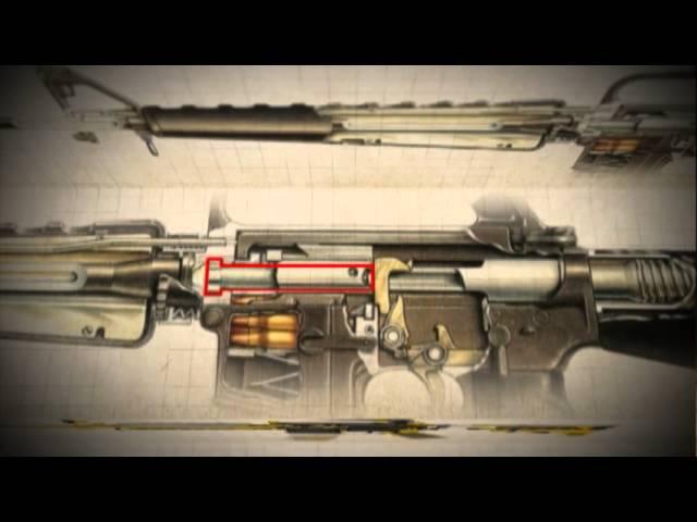 Винтовка М-14AR-15M16. Телепрограмма. Оружие ТВ