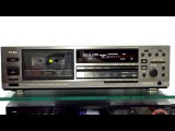 Teac R 919X 3 Head Autoreverse cassette deck calibration recording and playback
