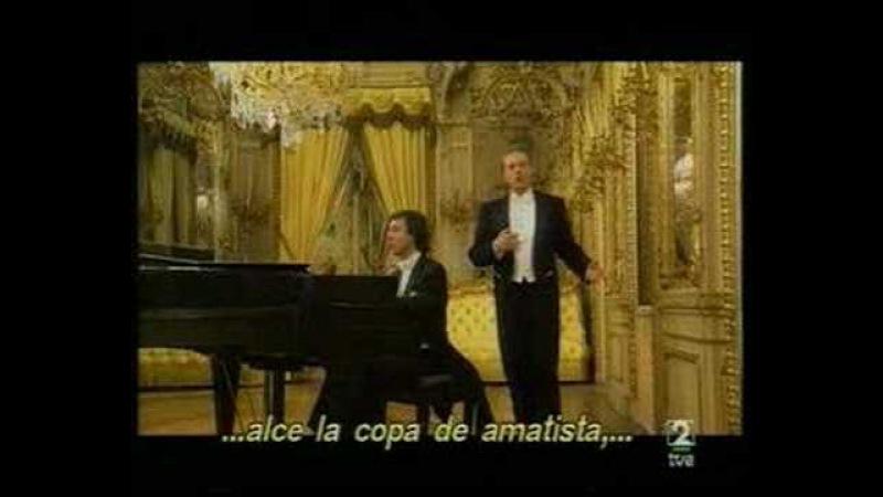 Zueignung - Alfredo Kraus y Edelmiro Arnaltes - Strauss