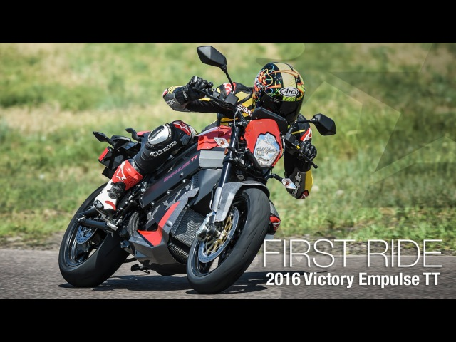 2016 Victory Empulse TT First Ride - MotoUSA