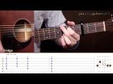 Как играть на гитаре Of Monsters and Men Dirty Paws (Guitar tutorial)