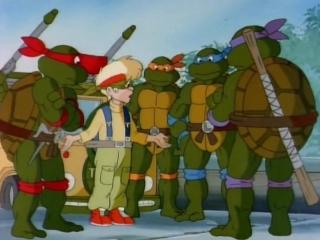 Черепашки ниндзя (Teenage Mutant Ninja Turtles) - Зак и вторжение инопланетян (5 Сезон, 18 Серия)