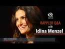 Rappler Q A with Idina Menzel