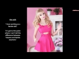 Russian Human Barbie Does Not Want A Ken - Tatyana Tuzova -Real Life Doll People