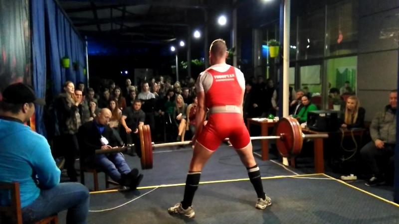 Водопьян Пётр, юниор, тяга 162,5 кг.