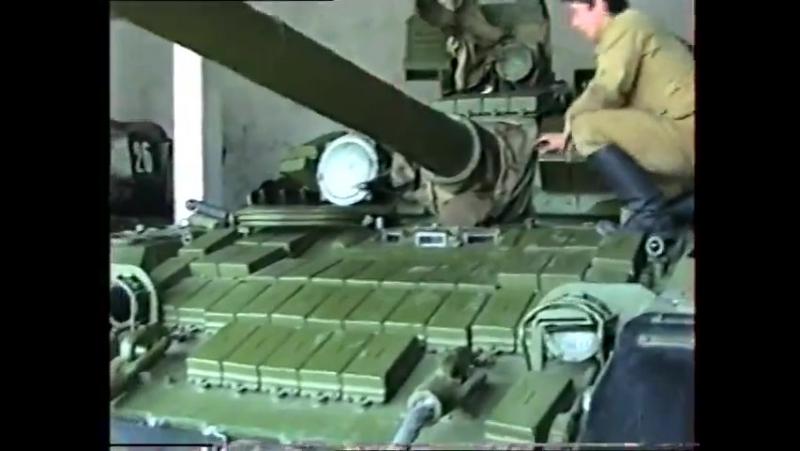 ГСВГ-ЗГВ. Парк боевых машин и итоговая проверка 20 МСД. 1991 год.Гримма.