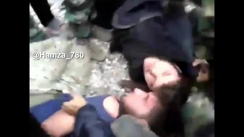 Задержание ПТУРщиков,которые стреляли в российский вертолет в прошлом году