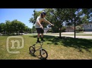 How To Bar Ride A BMX With Ryan Nyquist Mike Hucker Clark: Getting Awesome Ep 1
