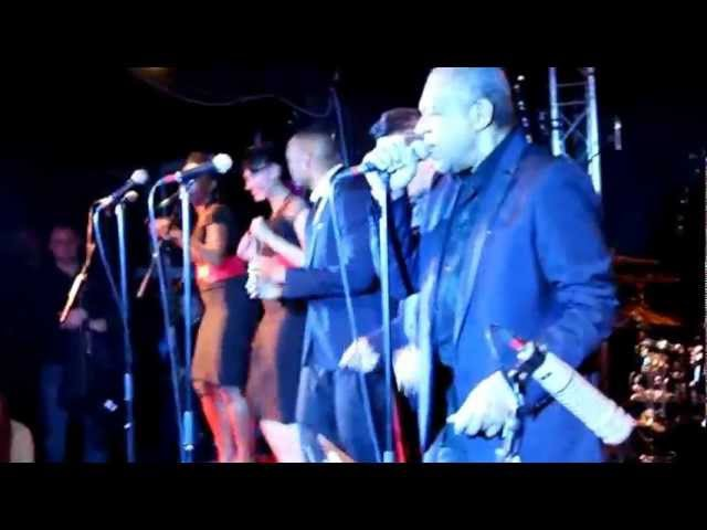 Vigon Bamy Jay Les Soul Men (Long Train Runnin) Show case au New Morning
