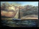 Paint with Kevin Hill - Sailing Near the Reef