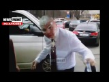 Эксклюзив. Украинского пропагандиста Ковтуна атаковали тортом