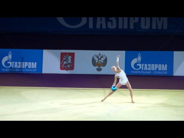 Кудрявцева Яна, показательные выступления на Гран При по художественной гимнастике Москва 2014