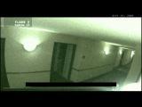 Призрак в гостинице заснят на камеру.