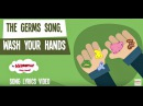 Germs for Kids | Wash Your Hands Song | Germs | Lyric Video | The Kiboomers