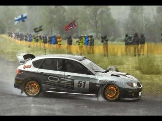 DiRT Rally - Дождь в Германии)) (AMD FX-4300, R7 250X)