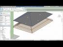 REVIT 2012 - TUTORIAL 18 - CRIANDO TELHADOS COM MADEIRAMENTO