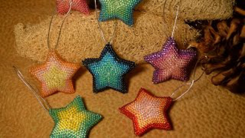 Брелки из бисера. Подвеска. Бисероплетение. Мастер класс Trinkets of beads. Suspension. Beading.