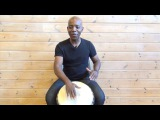 Exercise 3 How to play the djembe lesson - african drum and rhythm training