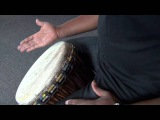 Exercise 1 How to play the djembe lesson - african drum and rhythm training
