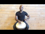 Exercise 2 How to play the djembe lesson - african drum and rhythm training