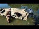 J Paul Jackson Floatation Pods on Xpress Drake Duck boat